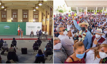 'Atentado a la democracia, juego sucio', acusa AMLO a INE