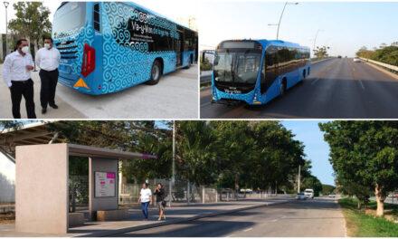 Periférico de Mérida estrenará servicio de transporte urbano de pasajeros