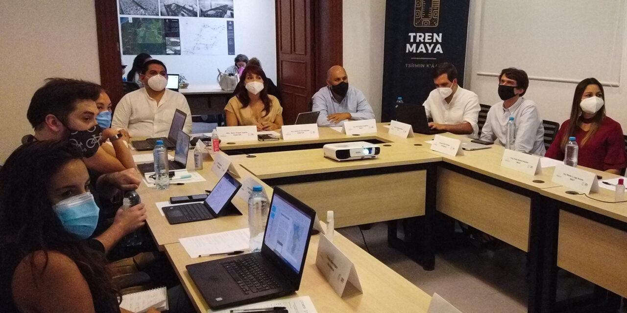 Mesa de Coordinación Interinstitucional de Movilidad por Tren Maya en Mérida