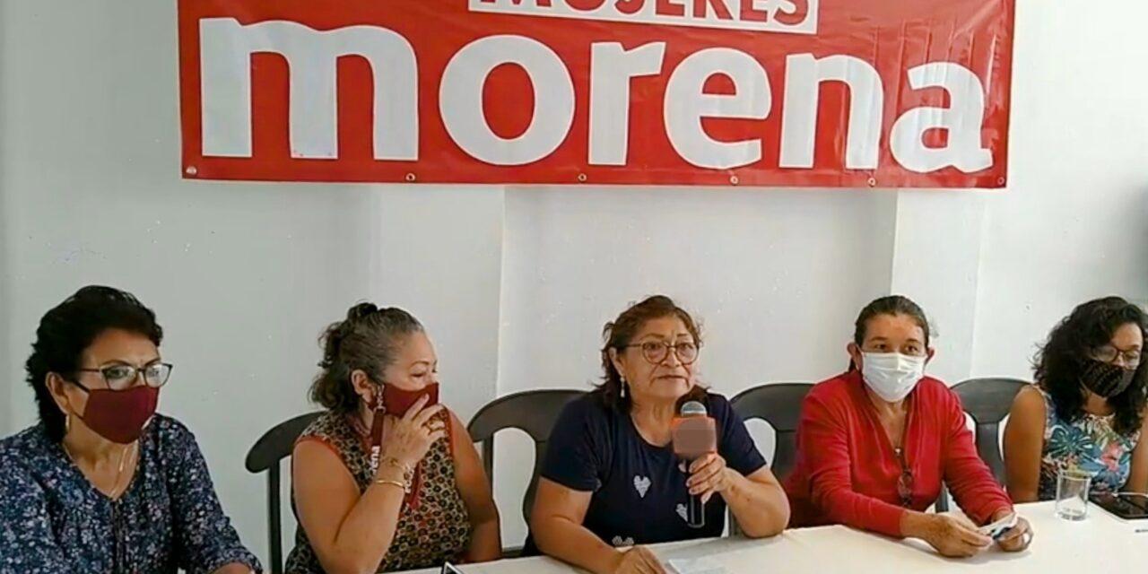 """Mujeres de Morena advierten """"imposición"""" de Verónica Camino Farjat"""