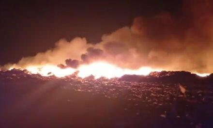 Cerrado relleno sanitario de Mérida por incendio de grandes proporciones