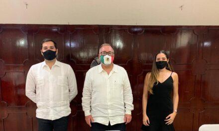 Jóvenes industriales de Canacintra Yucatán rinden compromiso