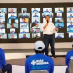 Bioseguridad en campaña de Renán para 'cuidar' al personal y a la gente
