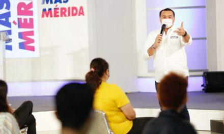 Más Mérida con mejores oportunidades para la juventud.- Renán