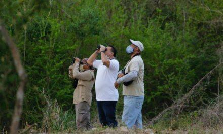 Renán en parque Ya'axtal: más por medioambiente y bienestar animal