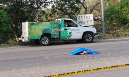Atropellada y muerta al intentar atravesar periférico de Mérida