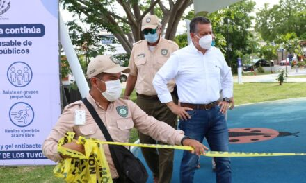 Reapertura de espacios públicos y actividades en Mérida, desde este lunes