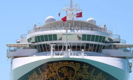Gigante vacío: crucero Disney Wonder estará dos semanas en Progreso