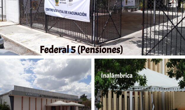 Instalan en Mérida centros de vacunación anti-covid: ubica el tuyo aquí