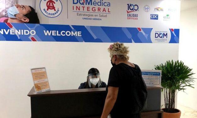 Módulo de pruebas Covid para viajeros en aeropuerto de Mérida extiende horario