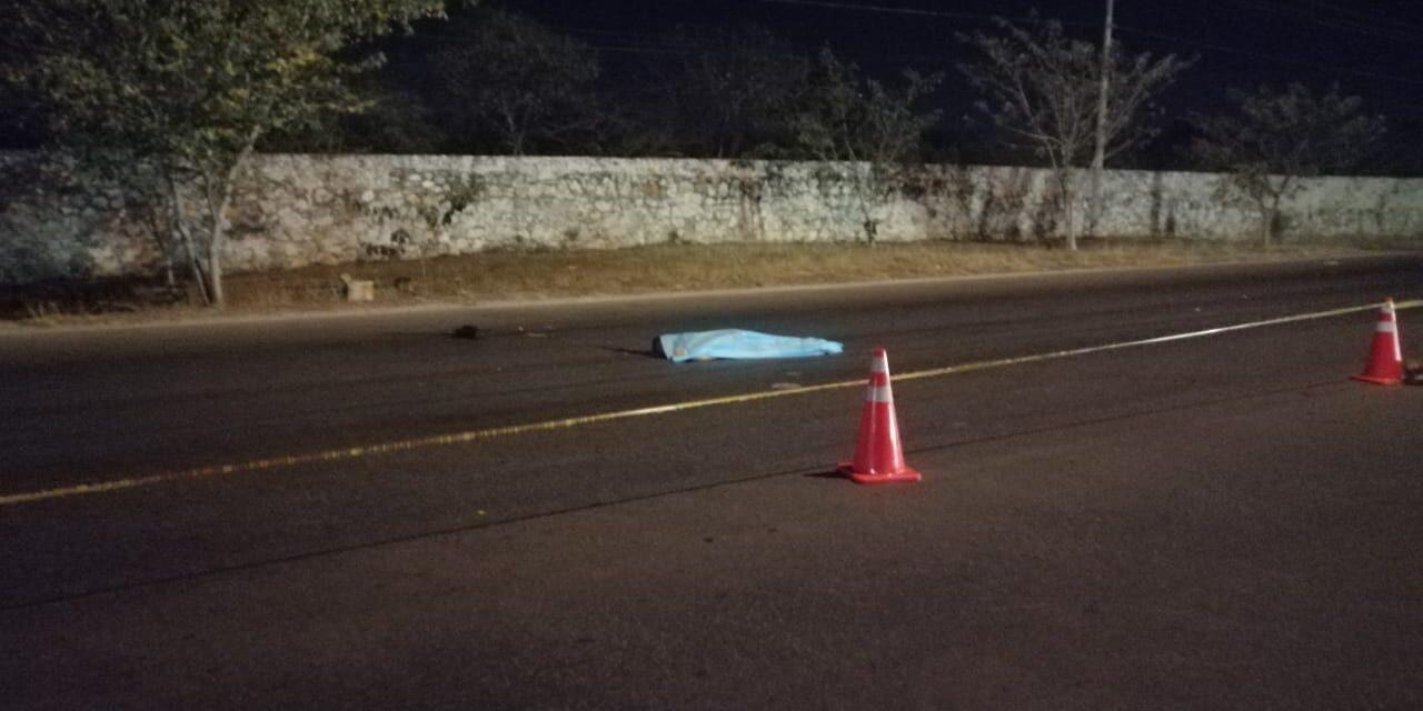 Intento fatal: muere atropellado en periférico de Mérida