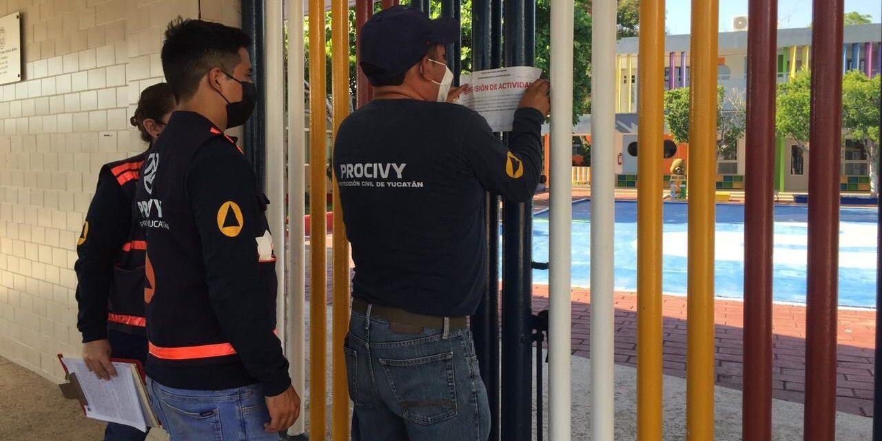 Sorprenden a guardería del Instituto Cumbres de Mérida y la suspenden