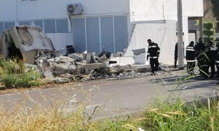 Estalla tanque de gas estacionario al norte de Mérida