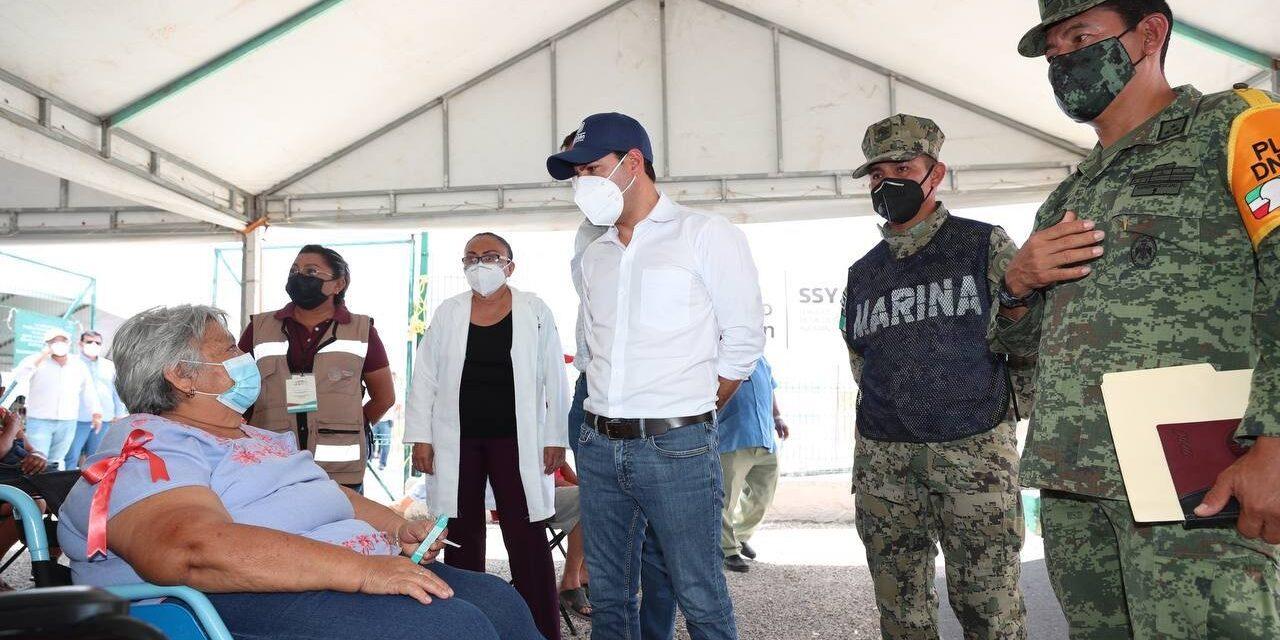 Abuel@s de 15 municipios reciben segundas dosis de vacunas antiCovid