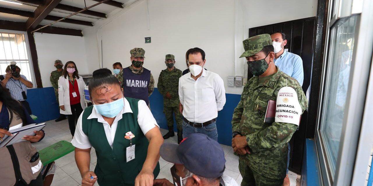 Vacuna antiCovid en Yucatán a personas de 50 a 59 años, desde lunes
