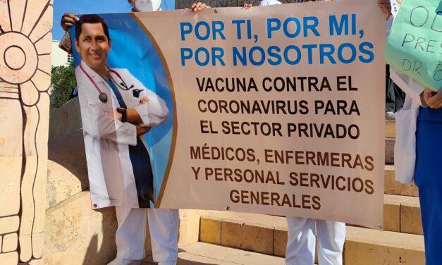 Repite dosis AMLO a médicos privados: '¡No!, si no te corresponde, no'