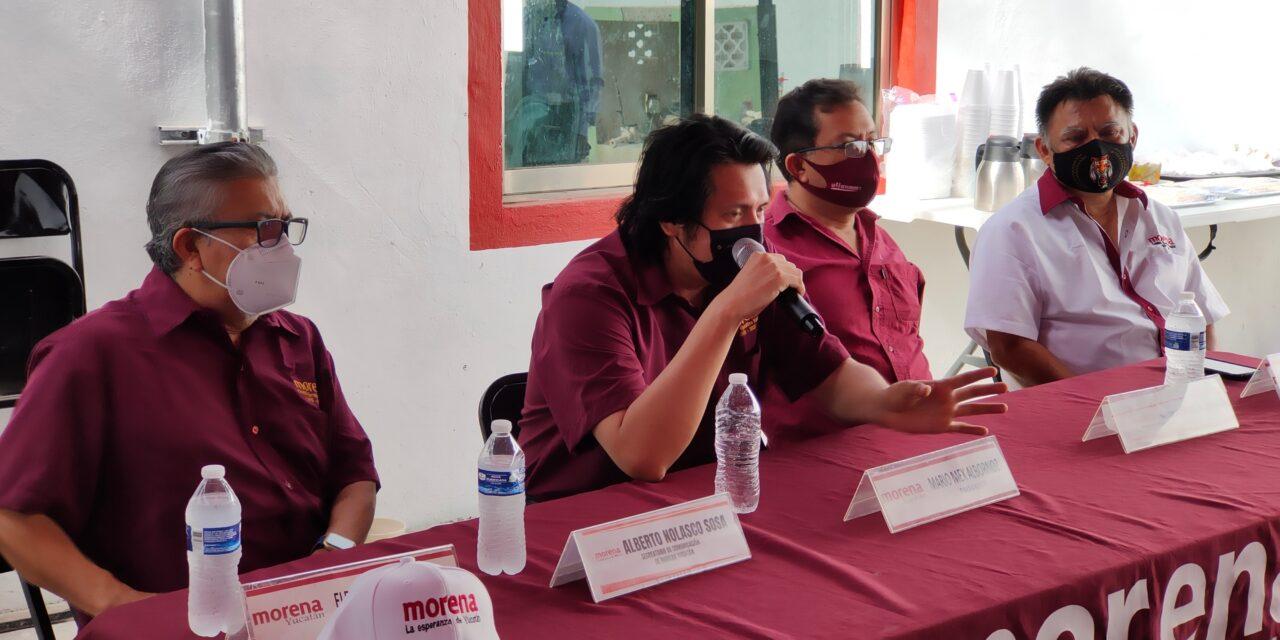 Disputas internas por candidaturas en Morena-Yucatán no terminan