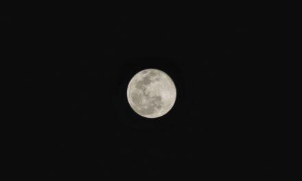 """Abril tendrá luna llena… de mitos: no será rosa; en mayo, sí la verás roja o """"de sangre"""""""