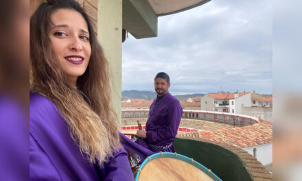 Celebra Calanda, España diferente jornada de tambores de Semana Santa