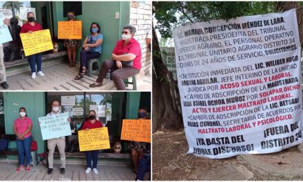 Se quejan de corrupción, acoso laboral y sexual en Tribunal Agrario Mérida