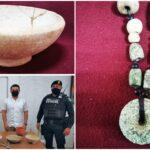 Vendían en internet piezas arqueológicas mayas; recuperadas por INAH Yucatán