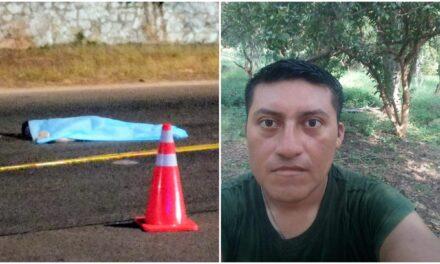 Militar de Acanceh aparece muerto: lo identifican como peatón atropellado