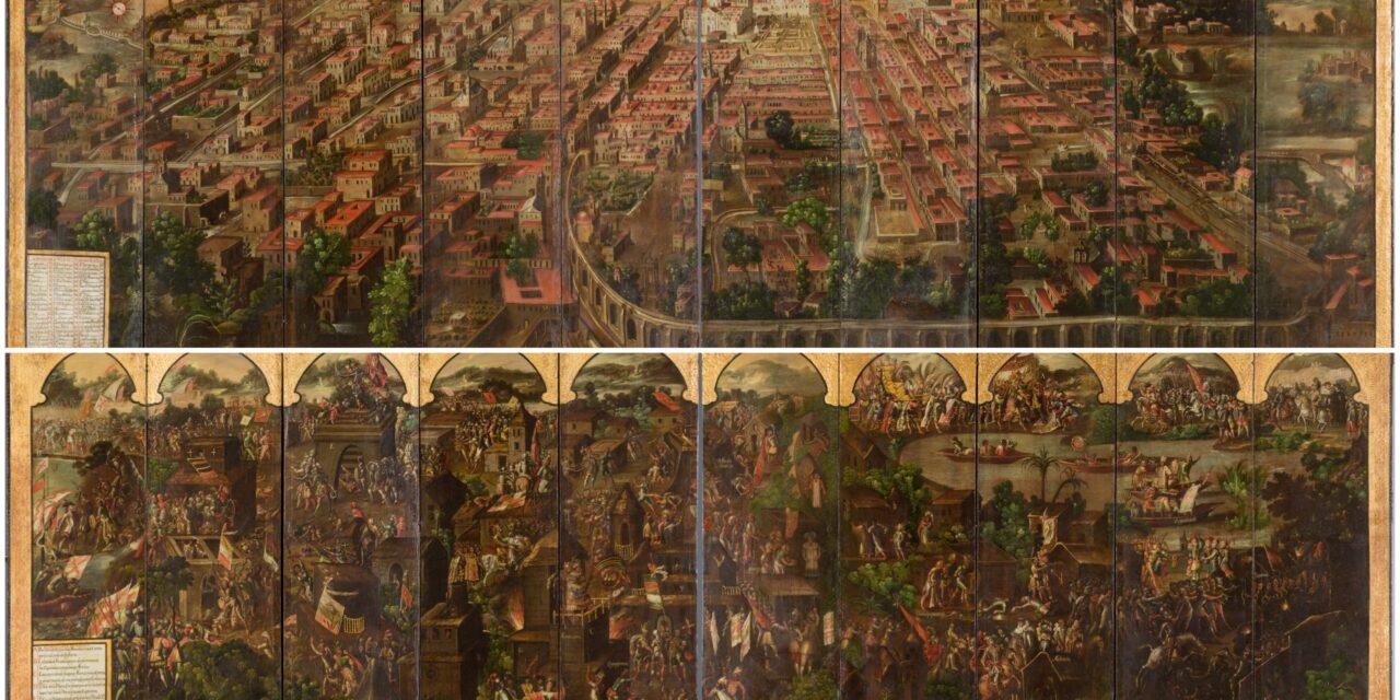 Expone Museo del Prado pieza clave del arte virreinal sobre México