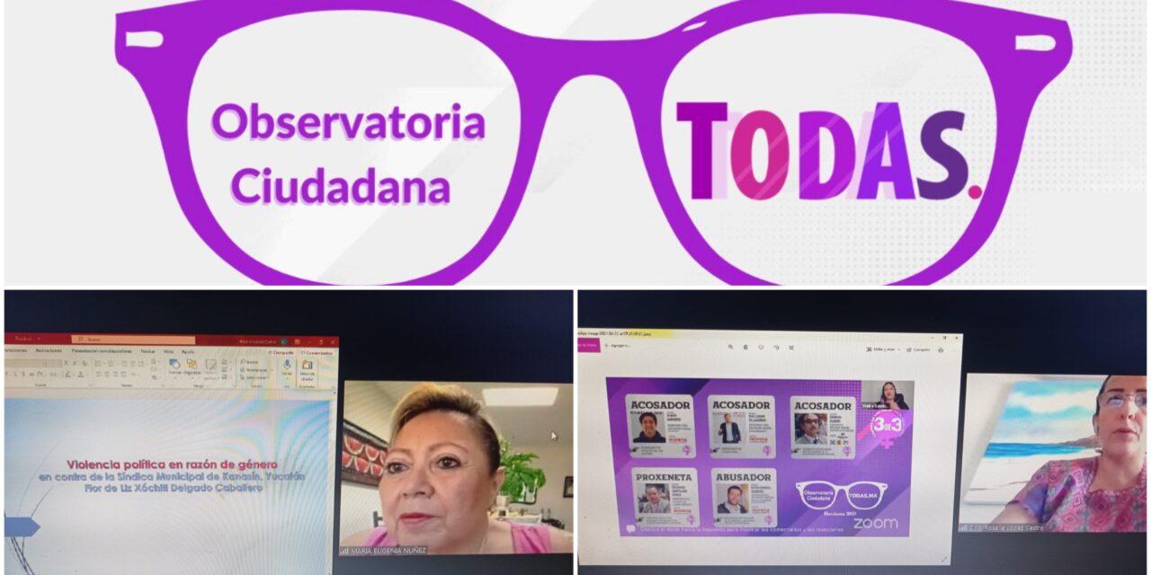 """""""Antiboletas"""" en Yucatán para candidatos con agravios a derechos de mujeres"""