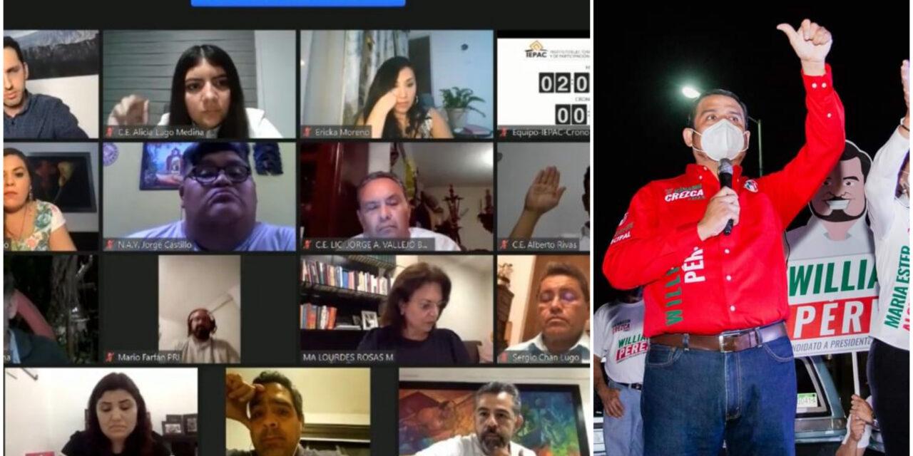 Dejan sin candidato a PRI en Kanasín; William Pérez Cabrera inelegible