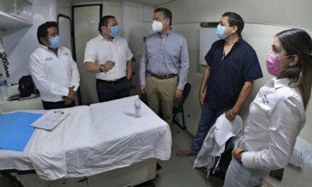 Unidad Médica Móvil recorre colonias y comisarías de Mérida