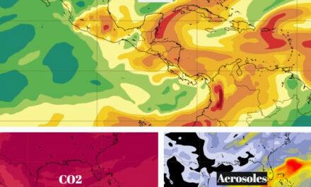 Esta noche, mientras duermes, nube de dióxido de azufre y más contaminantes pasa por Yucatán