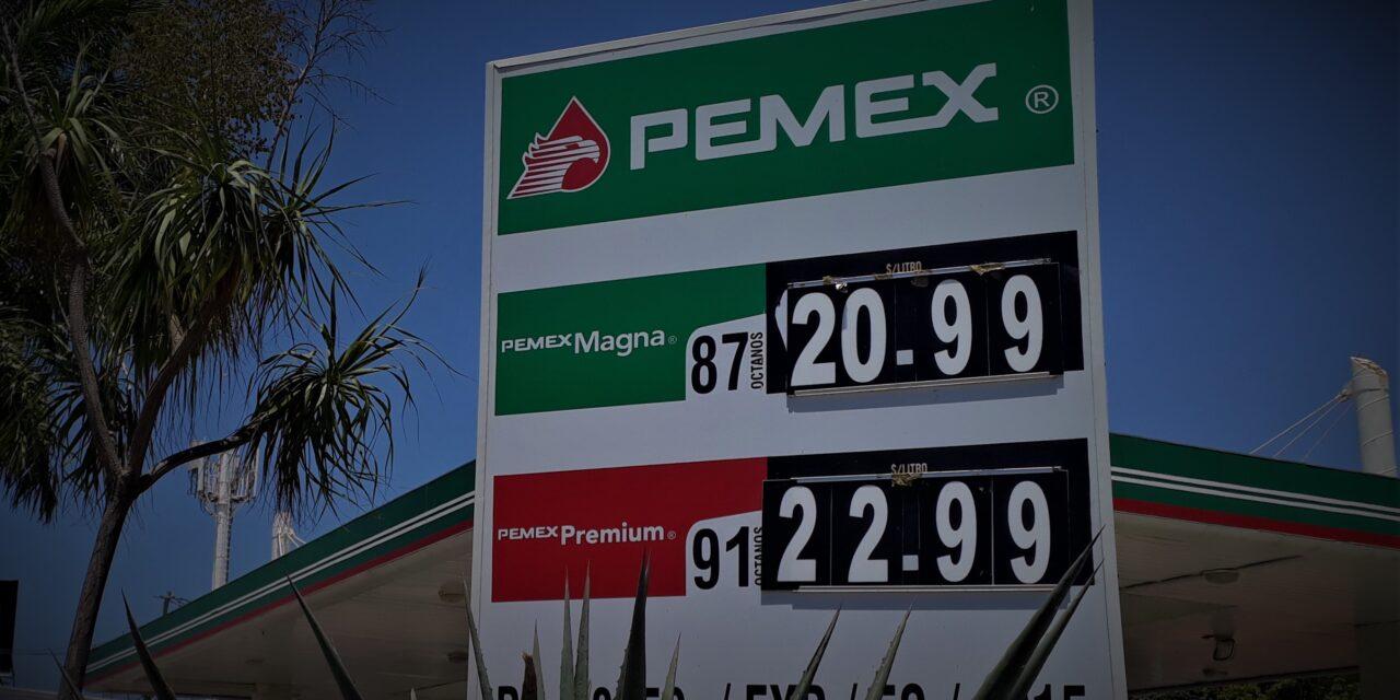 Gasolina en Yucatán tiene su '4T'… en 4 años, el precio no había subido tanto