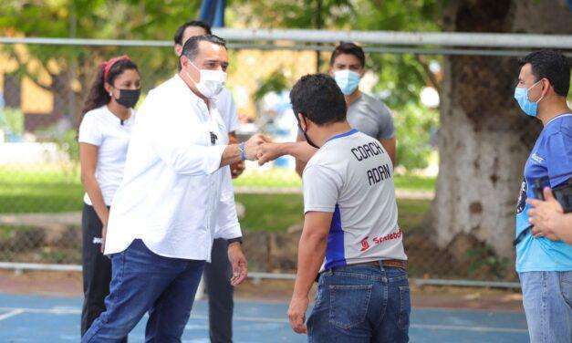 Mérida con más deporte y activación física: Renán, en Cholul