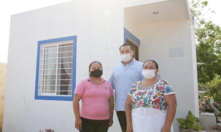 Vivienda Digna en Mérida con meta de seis mil acciones más.- Renán