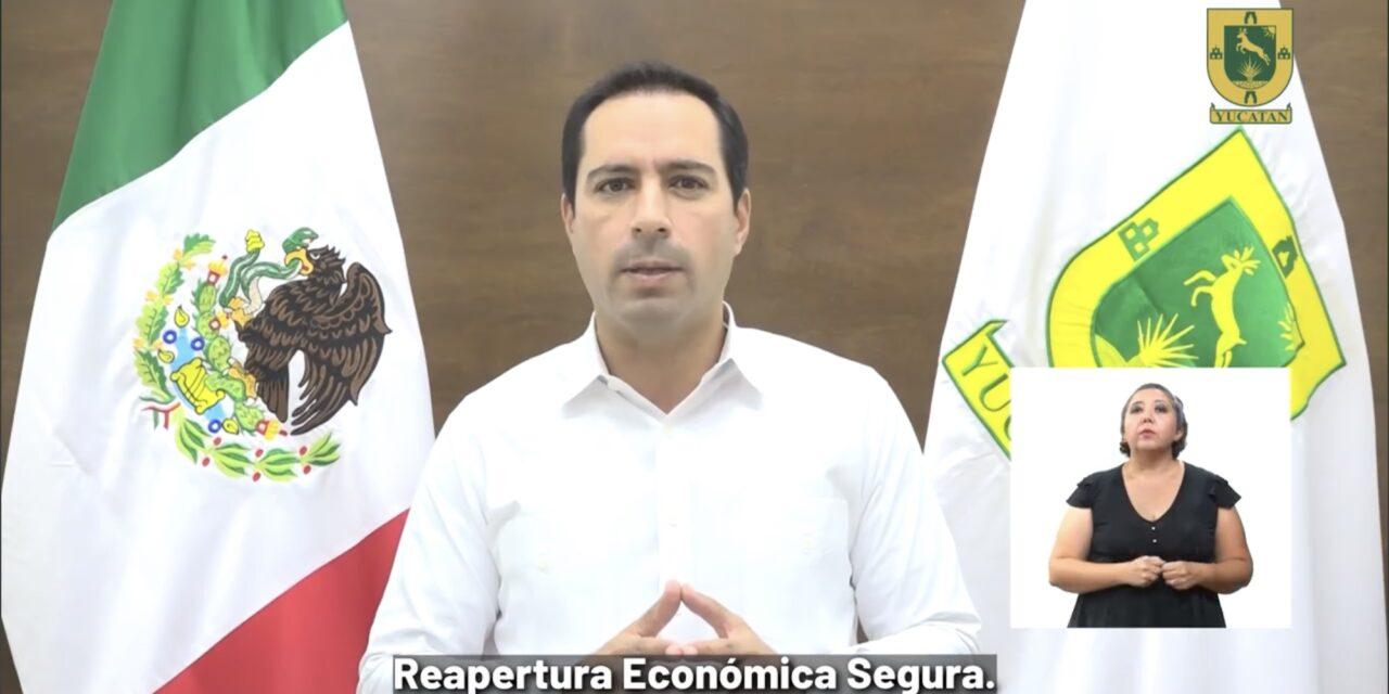 Quitan 'toque de queda' en Yucatán, entre seis medida de mayor reapertura