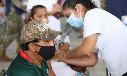 Vacunación a grupo de 50-59 años en 13 municipios de Yucatán a partir del martes