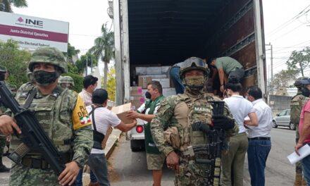 Boletas para elección de diputados federales, ya están en Yucatán