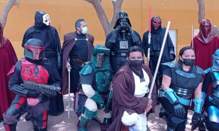 """Star Wars y """"la fuerza"""" invadieron Paseo de Montejo por causa noble"""