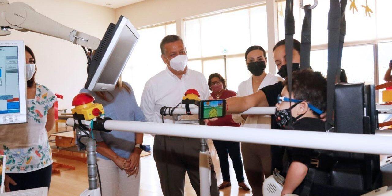 Centro de rehabilitación en discapacidad, cáncer y autismo, con apoyo de Ayuntamiento Mérida