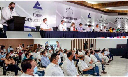 Inclusión y participación efectiva.- Canaco a candidatos por Mérida
