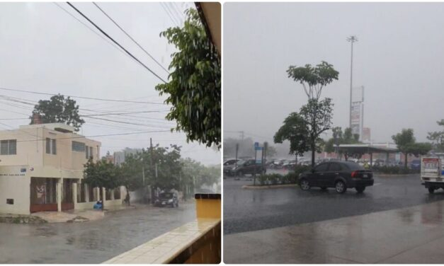 Temporada oficial de lluvias en península de Yucatán desde este sábado