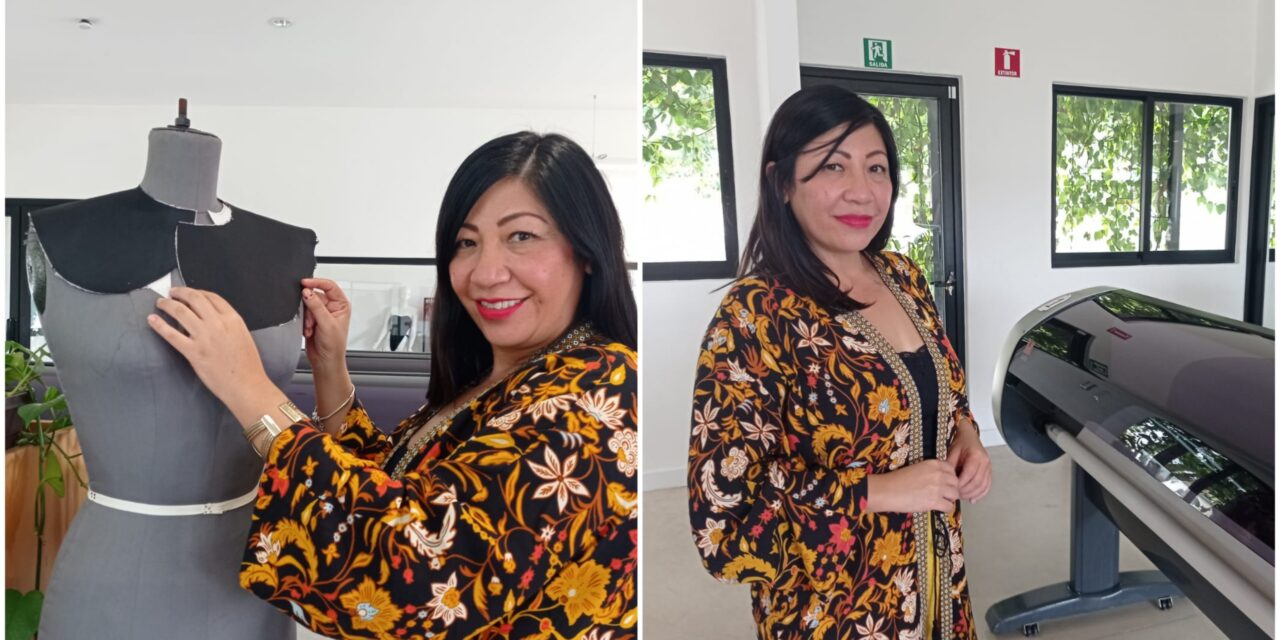 Yucateca de excepción, en círculos de la moda internacional