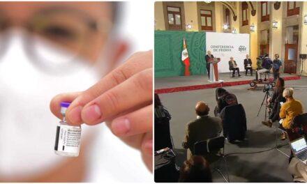 Meten acelerador federal en vacunación: prevén terminar en octubre