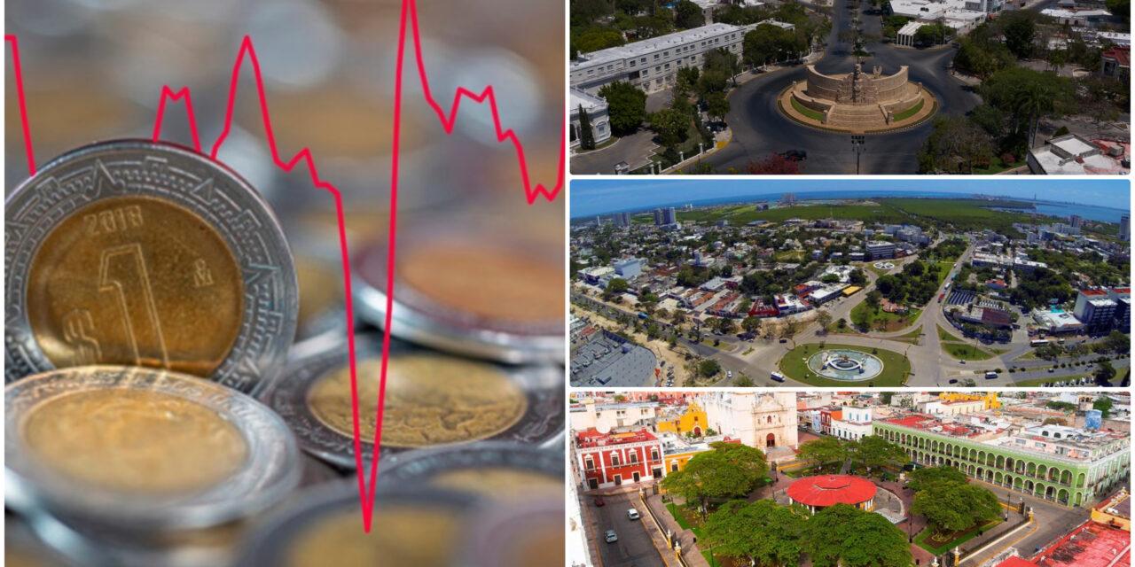 Contrasta estabilidad financiera de Mérida; Cancún y Campeche, vulnerables