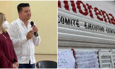 Senador de Morena con denuncia de su propio partido en Yucatán