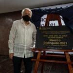 Inmortalidad e inspiración, doble premio para Maestro Distinguido 2021, Eddie Salazar Gamboa