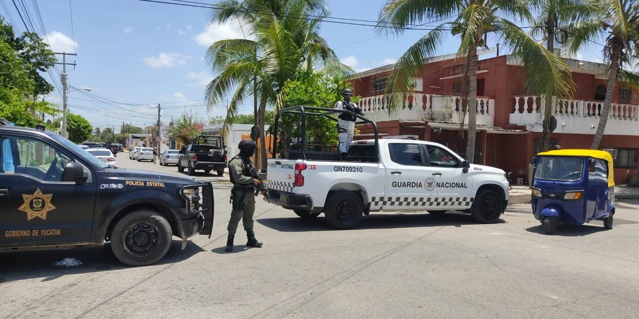 Otro operativo antidrogas en colonia Bojórquez Mérida; supuestos detenidos