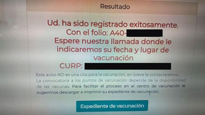 Yucatecas no embarazadas logran inscribirse para vacunación ¿ya te registraste?