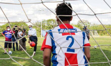 Red de deporte social-comunitario en Mérida.- Ramírez Marín