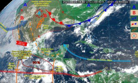 El 'mal tiempo' en Yucatán regresa este jueves; alerta por lluvias y vientos